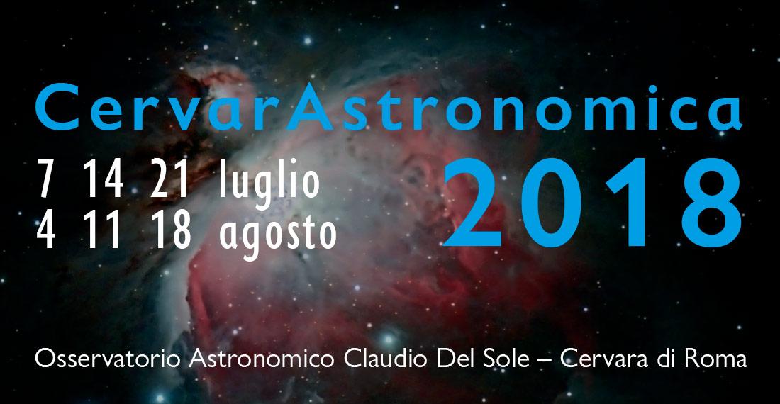 Logo Cervarastronomica 2018