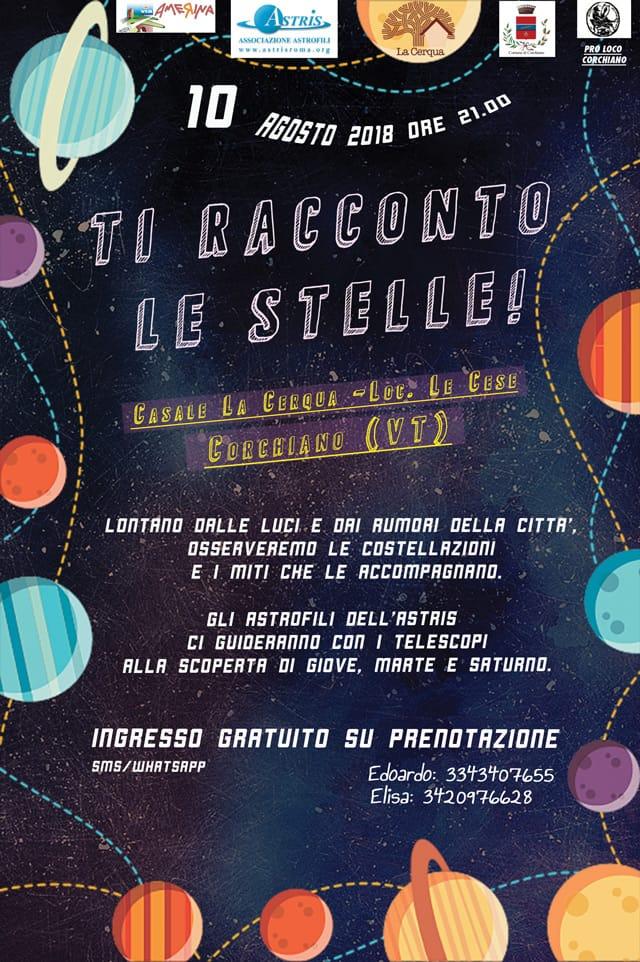 Locandina di TI RACCONTO LE STELLE!